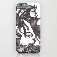 Rosas y espinas iPhone 6 Slim Case