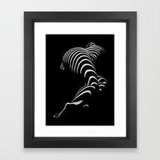 0774-AR BBW Sensual Legs… Framed Art Print