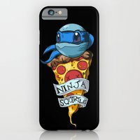 iPhone & iPod Case featuring Ninja Squirtle Leo by Johnaddyn