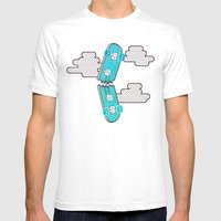 Break Time Mens Fitted Tee White SMALL