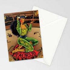 Tattoo Taurus Stationery Cards