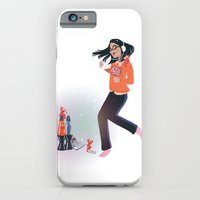 Dancing with Devils (White) iPhone 6 Slim Case