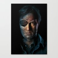 The Walking Dead - The Governor Canvas Print