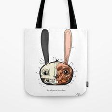 Visible Floating BunnyHead Tote Bag