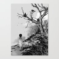 Welcome, Stranger! Canvas Print