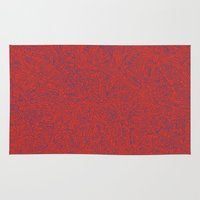 Abstract #002 Cells (Red… Rug