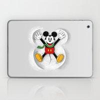 Snow Mickey Laptop & iPad Skin