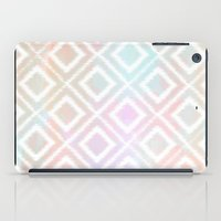 Watercolor Ikat iPad Case
