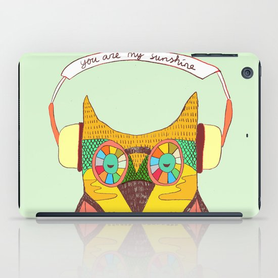The Owl rustic song iPad Case