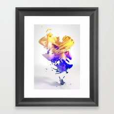Abstract Expressionism Framed Art Print