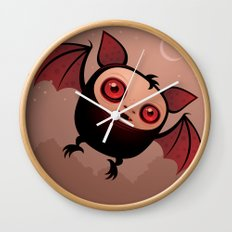 RedEye the Vampire Bat Boy Wall Clock
