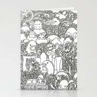 Oodles of Doodles of Singapore (White) Stationery Cards
