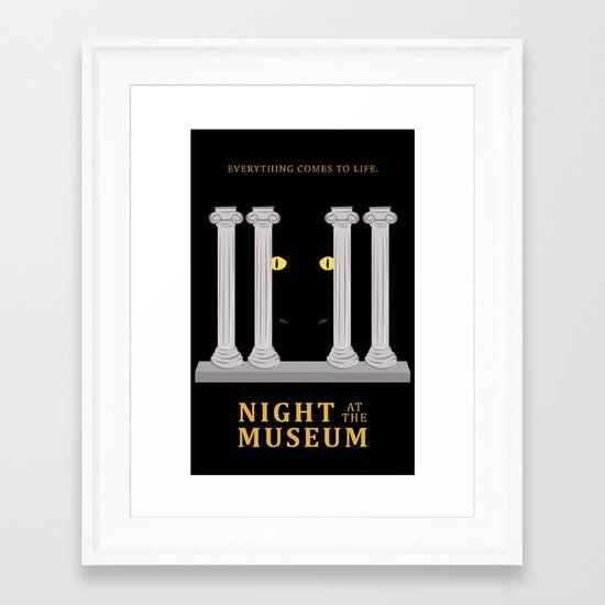 Night at the Museum Framed Art Print