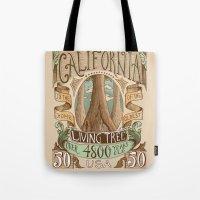 California Vintage Posta… Tote Bag