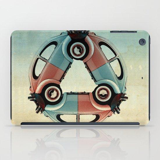 back end triangle - VW beetle iPad Case