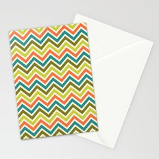 Citronique Series: Chevron Grand Sorbet Stationery Cards
