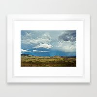Beams Framed Art Print