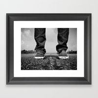 All Star Framed Art Print
