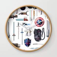 Famous Weapons Wall Clock