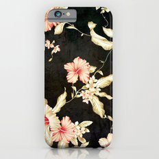 VINTAGE FLOWERS III - Fo… iPhone 6 Slim Case