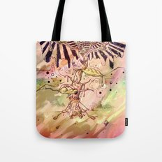 Magic Beans (Alternate colors version) Tote Bag
