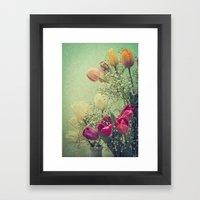 Vintage French Tulips --… Framed Art Print