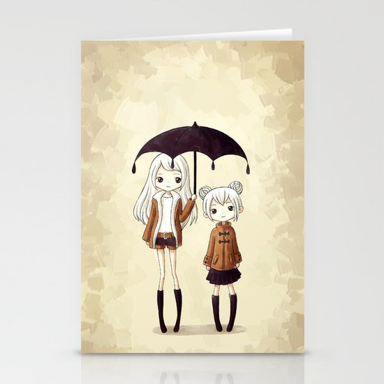 Sisters Stationery Card