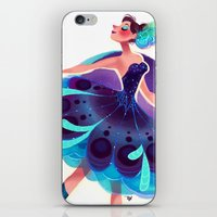 Peacock Tutu iPhone & iPod Skin