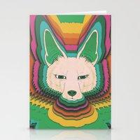 Fannec Fox Stationery Cards