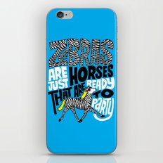 Party Horses iPhone & iPod Skin