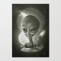 Alien II Canvas Print