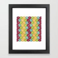 Polka Me Dotty! Framed Art Print