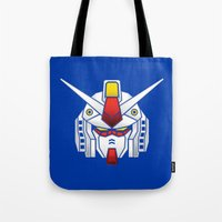 Mobile Suit in Disguise Tote Bag