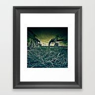 Silence Before The Storm Framed Art Print