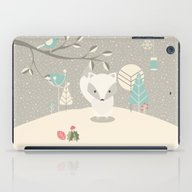 Christmas Baby Fox 07 iPad Case