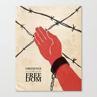 OBEDIENCE Is FREEDOM - O… Canvas Print