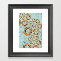 SOS Framed Art Print