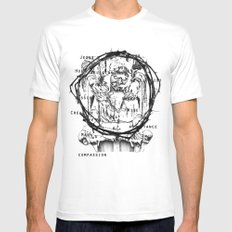St Anne  Mens Fitted Tee White SMALL
