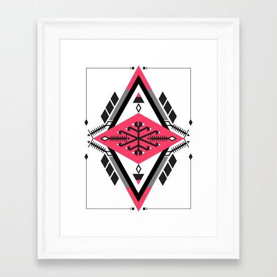 :::Space Rug2::: Framed Art Print