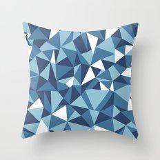 Ab Blues Throw Pillow