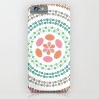 Retro Floral Circle 2 iPhone 6 Slim Case
