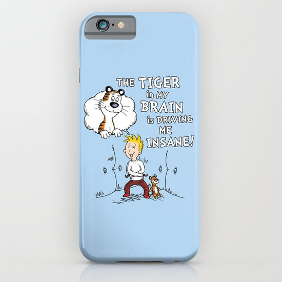 The Tiger in My Brain iPhone & iPod Case