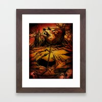 ROTTING EARTH Framed Art Print