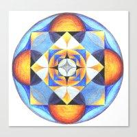 Solar Kaleidoscope (ANAL… Canvas Print
