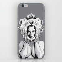 Lioness iPhone & iPod Skin