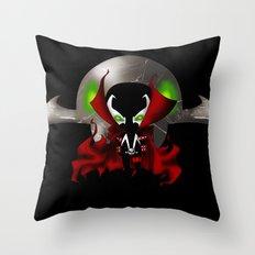 Chibi Spawn Throw Pillow