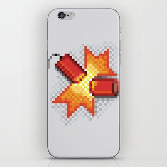 Pixel Boom iPhone & iPod Skin