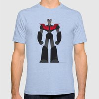 Mazinger Z Mens Fitted Tee Tri-Blue SMALL