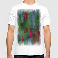 Mirage Mens Fitted Tee White SMALL
