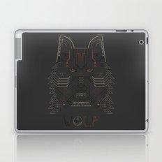 Wolf line illustration Laptop & iPad Skin